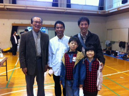 大島さんを男木島で祝う会