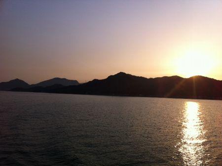 小豆島・寒霞渓100kmウルトラ遠足、なんとか完走